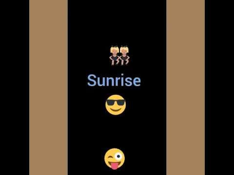 Jillionarie,Fuse ODG Y Fatman Scoop-sunrise (remix) Feat (dj Marchele) Sunrise Inverso Menol