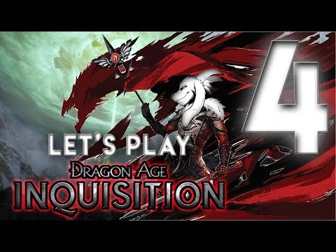 Recruiting Agent Master Dennet | Dragon Age Inquisition Let's Play 4 (PS4)
