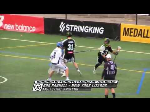 MLL Warrior Offensive Player of the Game; Rob Pannell