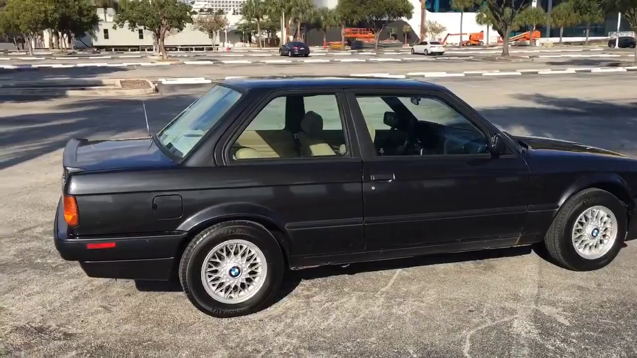 1991 bmw e30 318is