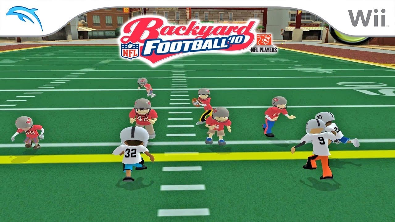 Backyard Football '10   Dolphin Emulator 5.0-8533 [1080p ...