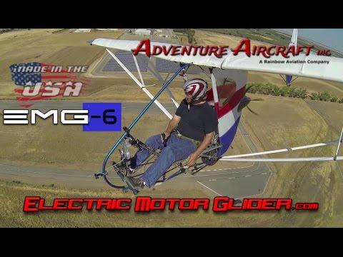 EMG Electric Aircraft – EMG 6 electric ultralight motorglider.