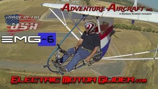 EMG Electric Aircraft – EMG 6 electric ultralight motorglider.