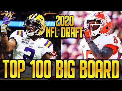 2020 NFL Draft: Top 100 Big Board