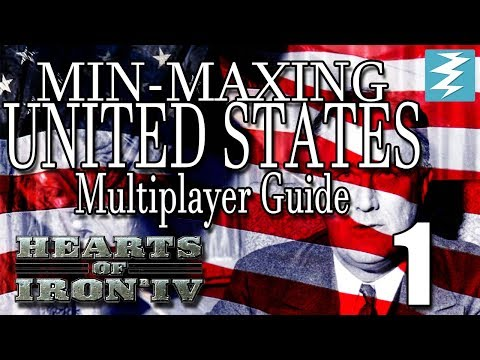 MIN MAXING GUIDE FOR AMERICA [1] MULTIPLAYER USA - Hearts of Iron IV HOI4 Paradox Interactive