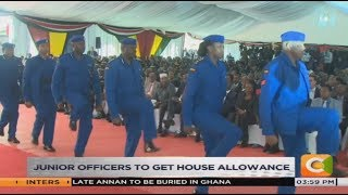 New police command structure unveiled by president Kenyatta