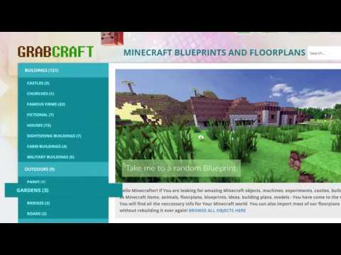 Searching For Minecraft Building Blueprint Maker Youtube