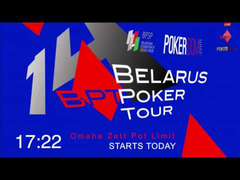 BPT 14 Belarus Poker Tour Pot Limit KNO Omaha Final