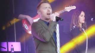 Boyzone - Love Me For A Reason - County Durham - 07.06.2014