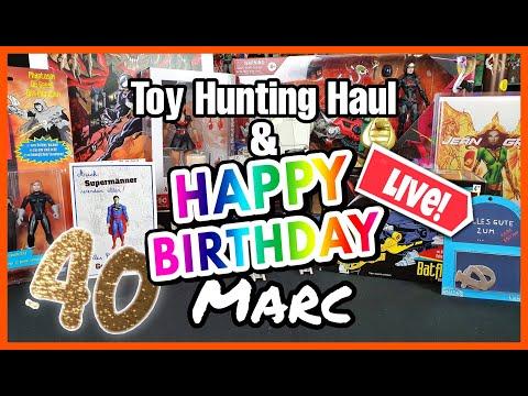 Amsterdam Toy Hunting Haul & Happy Birthday Marc! | Der Cave Talk LIVEshow