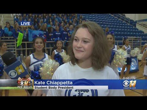 CBS 11 Pep Rally: Nolan Catholic High School Student Council