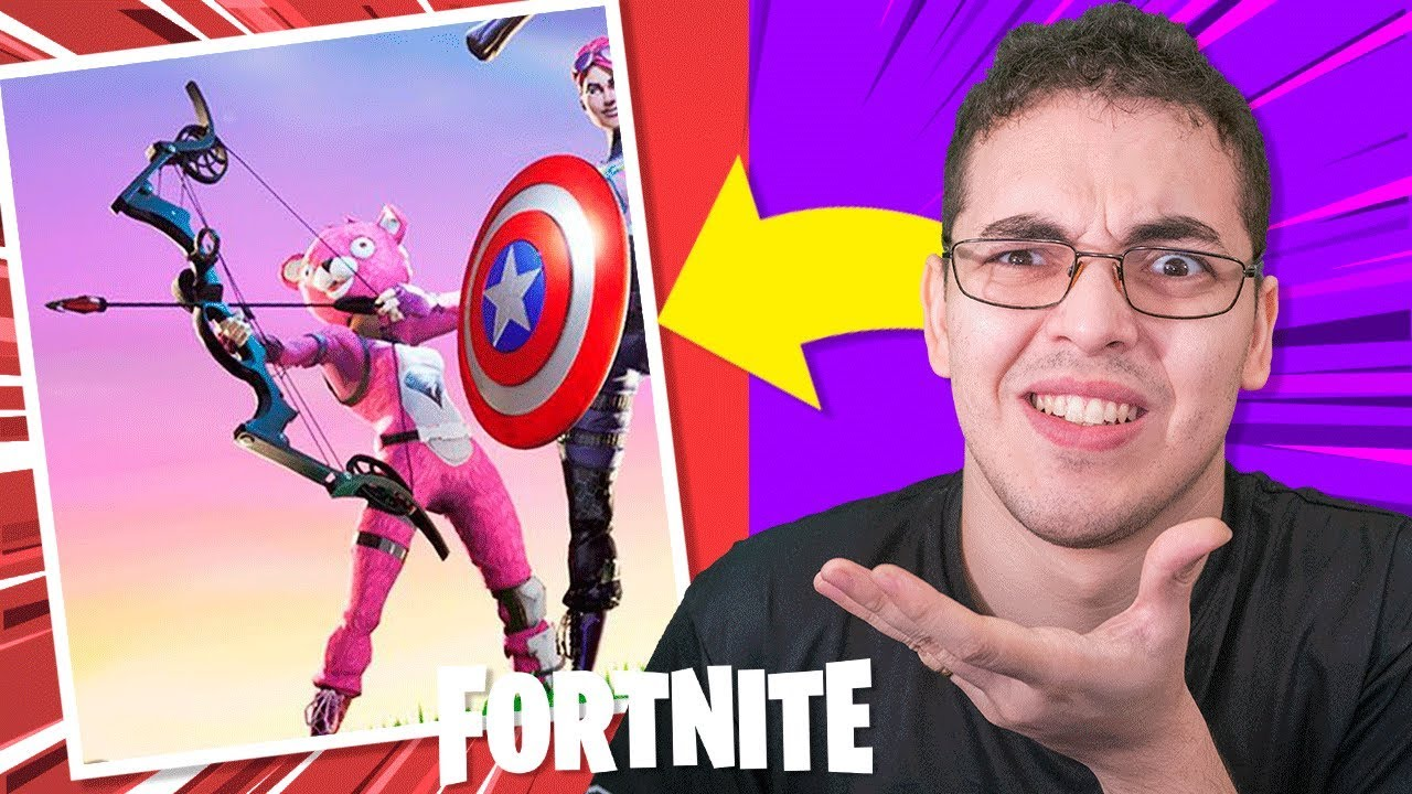 5d4a5ecd3 VINGADORES ULTIMATO NO FORTNITE - O Arco e Flecha do Gavião Arqueiro ...