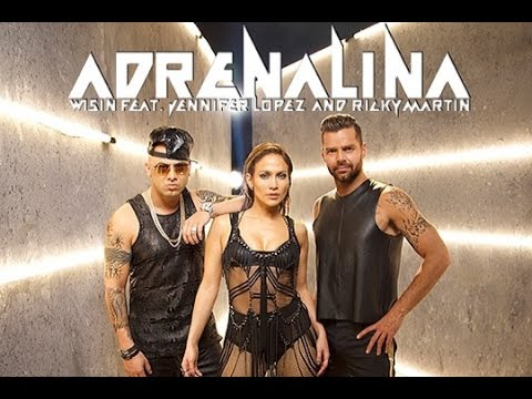 Wisin feat Jennifer Lopez, Ricky Martin  Adrenalina World Cup Song Brazil 2014