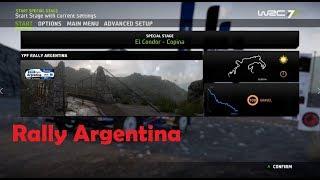 WRC 7-Rally Argentina- El Condor Copina