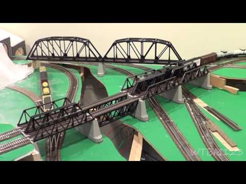 Model Railroad, Layout , Phil starting to build