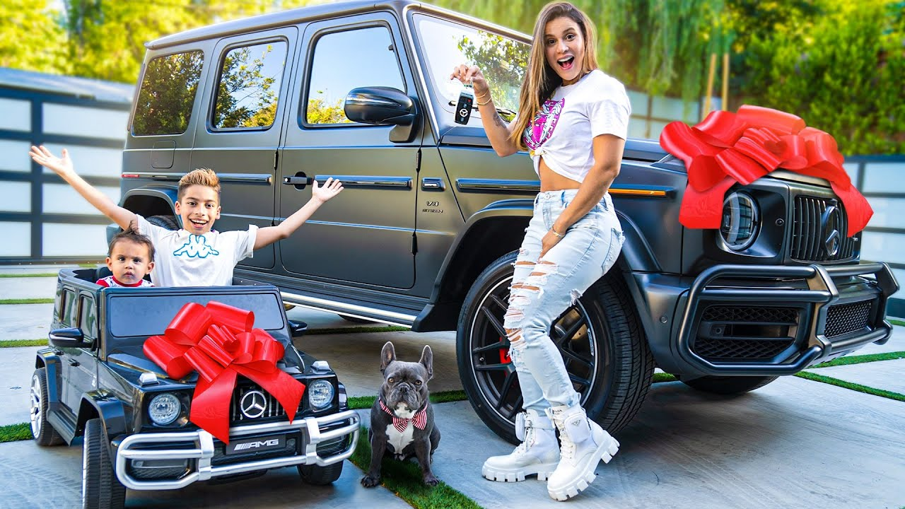 SURPRISING WIFE & KIDS with DREAM CARS! 😱 | The Royalty Family
