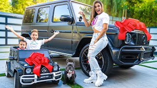 SURPRISING WIFE KIDS with DREAM CARS The Royalty Family