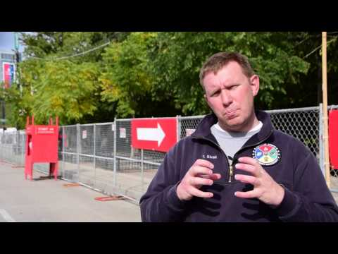 Things to consider at a large sports event with regard security