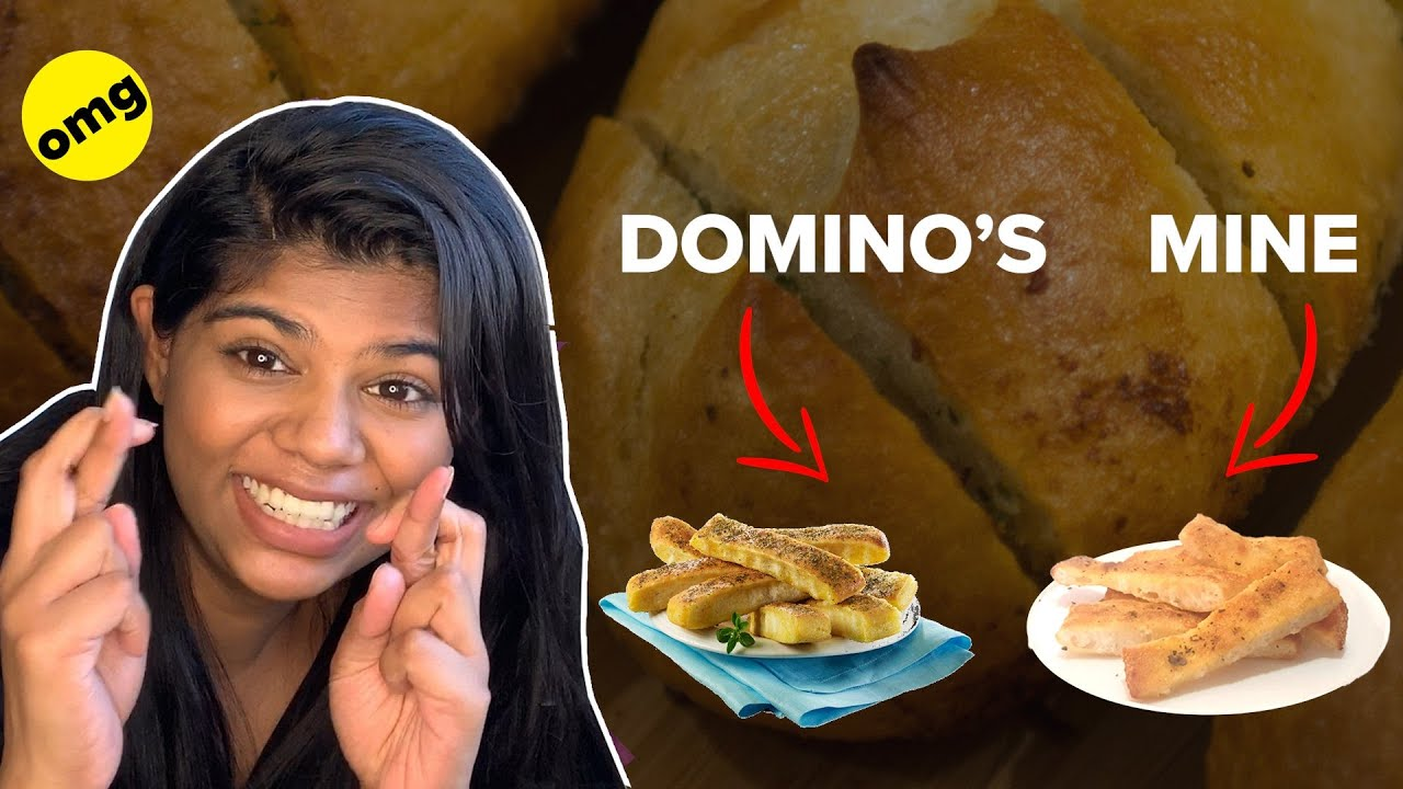 I Tried Recreating The Domino's Garlic Bread   BuzzFeed India