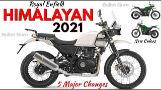 Royal Enfield 2021 HIMALAYAN New Features & Launch Details