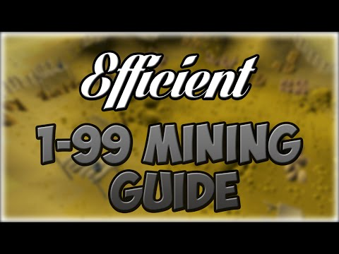 EFFICIENT 1-99 Mining Guide | Best XP, Profit, or AFK | Olds