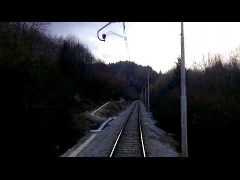 bled to ljubljana train journey section