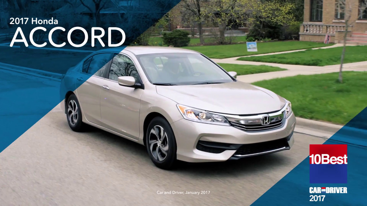 The Perfect Ride 2017 Accord 15s