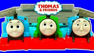 Trackmaster Harolds Rescue Playing Crashing Percy Gordon & Thomas The Tank