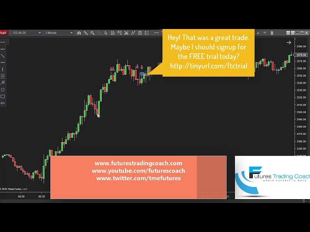 032620 -- Daily Market Review ES CL NQ - Live Futures Trading Call Room