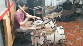 The Dillinger Escape Plan - Paranoia Shields (Partial Drum Cover) - Matt Themelco