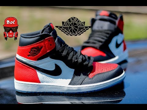 How To: Custom Shoes Bred Toe 1's With Angelus Paint