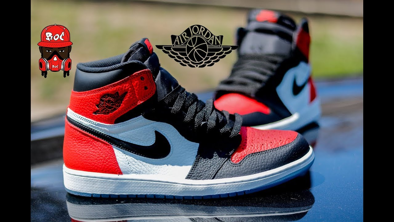 f79f0c78aafed How To: Custom Shoes Bred Toe 1's With Angelus Paint