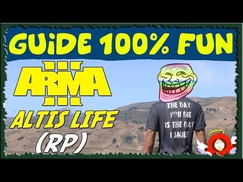 Altis Life ARMA 3 : Deal d'Héroïne en Hélicoptère ! || GUIDE 100% Fun #06 [HD-FR]