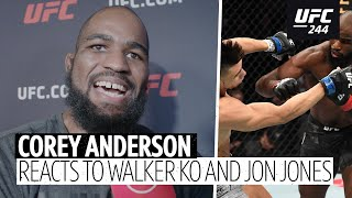 Corey Anderson calls out Jon Jones and apologises for mocking Johnny Walker