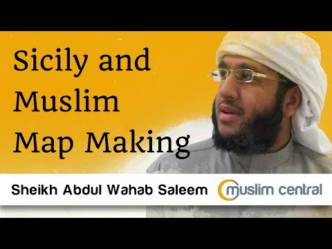 Abdul Wahab Saleem - Sicily and Muslim Map Making