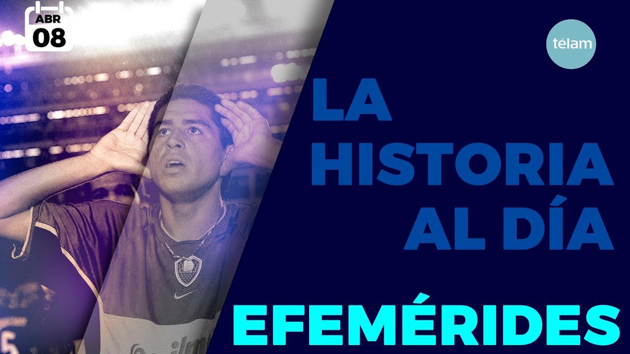 HISTORIA DEL DIA (EFEMÉRIDES 08 ABRIL)