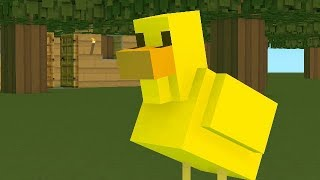 The Duck Song..... Minecraft Animation Ep.1