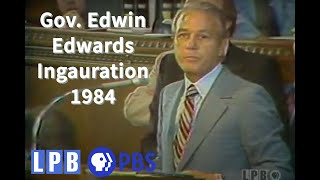 Inauguration 1984: Governor Edwin Edwards [Part 1 of 2]