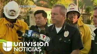 Autoridades entregan detalles sobre arresto del hombre que se atrincheró con rehenes en  LA