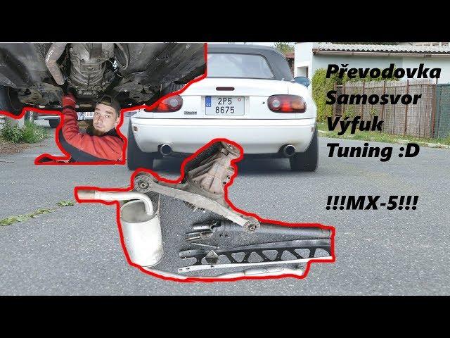👉 Samosvor, Duplex výfuk 🤓 Tuning mazdy Mx-5 díl 2