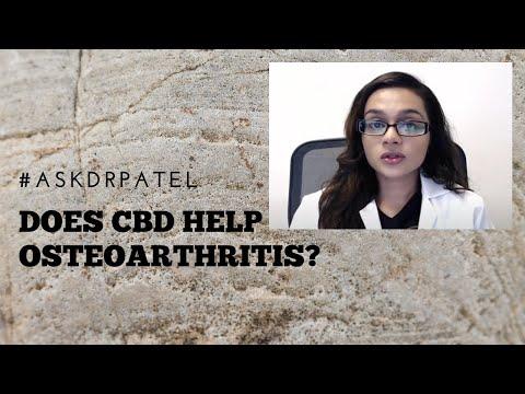 Can CBD Help With Osteoarthritis?