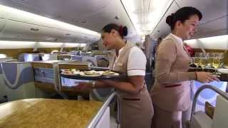 Exclusive onboard preview of Dom Pérignon Vintage 2005 | Emirates Airline