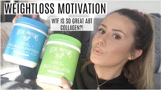 WEIGHT LOSS DETOX DAY 2: WTF IS SO GREAT ABOUT COLLAGEN & WHAT I ATE IN A DAY