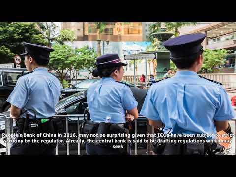 China's internet finance association issues ico warning