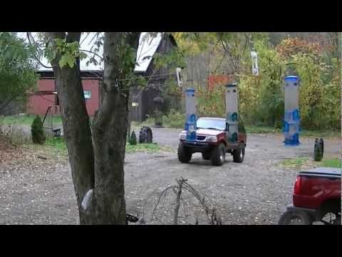 4X4ing with Metallica in Bradford county PA  Ford & Dodge Toys 2012 Part one