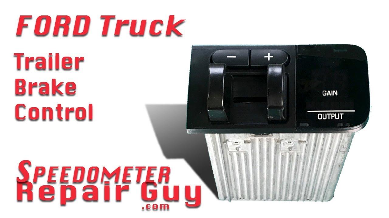ford trailer brake controller module repair model years 2005 2006 and 2007 [ 1280 x 720 Pixel ]
