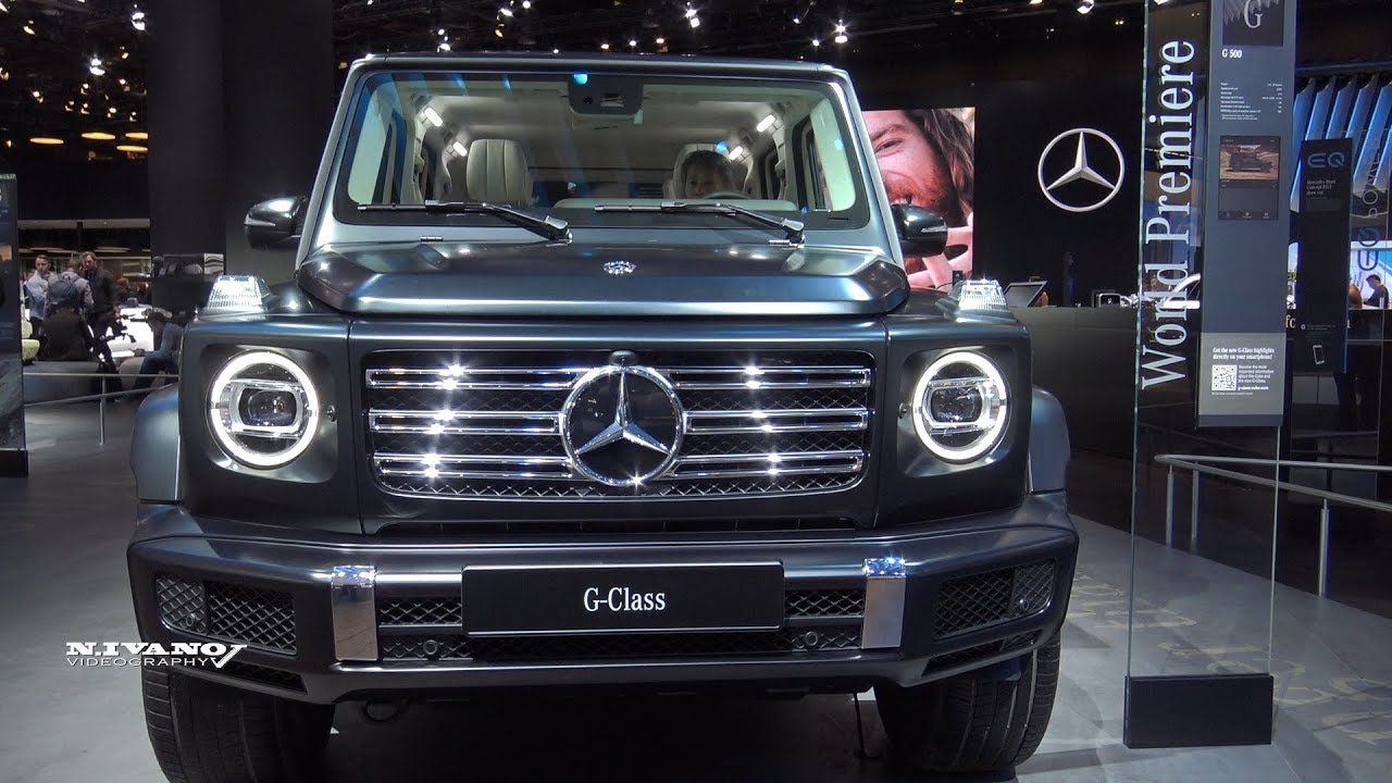 Mercedes G Class Suv >> 2019 Mercedes-Benz G-500 - Exterior And Interior ...