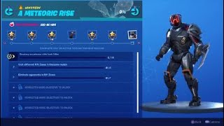 Fortnite Season X A Meteoric Rise Mystery Challenges Unlock The Scientist Skin Part Of The Visitor
