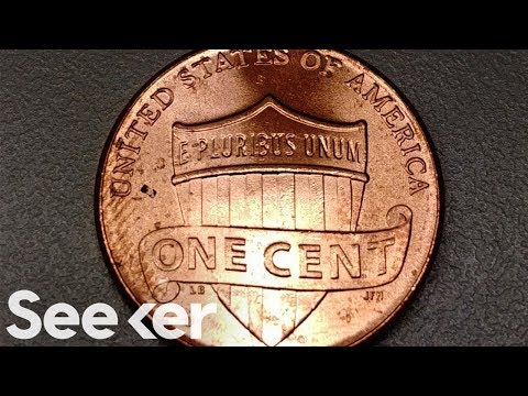 There's a Microbot on This Penny That Can Travel Through Your Body