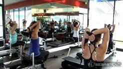 Training with Sebastien Lagree at Pilates Plus Costa Mesa